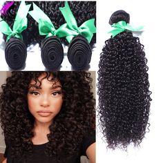 Terbaik 8A Kelas Peru Perawan Rambut Keriting Keriting Rambut Perawan 4 bundel Keriting Menenun Rambut Manusia Menenun Afro Keriting Keriting Bundel Rambut
