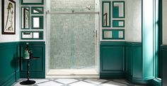 KOHLER   KOHLER Levity Sliding Bath and Shower Doors   Bathroom New Products   Bathroom  