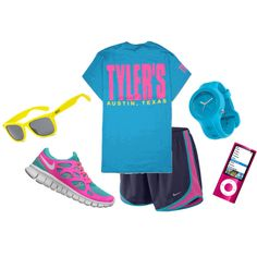 RUNNING OUTFIT, created by hannahgraves