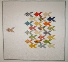 Leading the Pack by Norma Cecil - Modern Quilt Guild ( AKA - The One That Got Away )