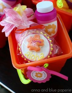 Kids Luau Party Favor