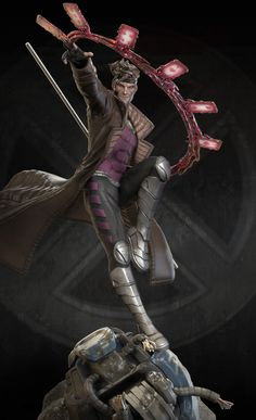 XM Studios Gambit, Marthin Agusta on ArtStation at https://www.artstation.com/artwork/xm-studios-gambit