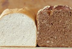 Homemade Bread Machine Recipes (I am going to try her white bread recipe. Easy Bread Machine Recipes, Bread Maker Recipes, Easy Recipes, Sylvie Germain, Healthy Homemade Bread, Homemade Breads, Whole Grain Foods, Sweet Bread, Bread Baking