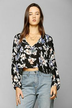 Pins And Needles Bow-Back Blouse