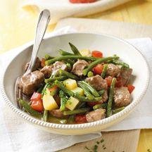 Bohnentopf mit Rindfleisch