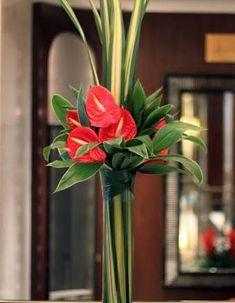 Resultado de imagem para hotel lobby flower decorating
