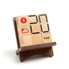 Popular Wooden Block Calendar-Buy Cheap Wooden Block Calendar lots ...