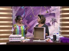 Mulher.com 20/02/2015 Marisa Magalhães - Caixa com scrap decor Parte 2/2 - YouTube