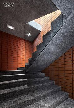 Interior Design Magazine: Salas Studio Renovates a Spanish Wine Cellar | #InteriorDesign #InteriorDesignMagazine #staircase #marble #SalasStudio #Spain #beautiful