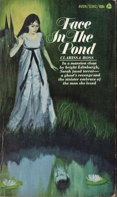 Face in the Pond by Clarissa Ross