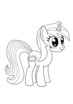 Twilight Sparkle My Little Pony Unicorn coloring page Emoji Coloring Pages, Birthday Coloring Pages, Mermaid Coloring Pages, Cool Coloring Pages, Mandala Coloring Pages, Free Printable Coloring Sheets, Coloring Sheets For Kids, My Little Pony Unicorn, My Little Pony Coloring