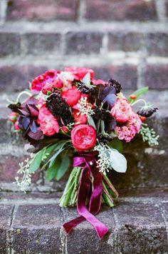 Rich colours #bouquet