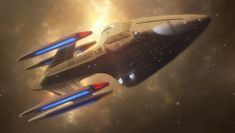 """""""My ship separates into three parts"""" The Prometheus is one of the popular and gimmicky ships in the Star Trek gaming community. With a sleek dart-like design, quad nacelle configuration and its sig..."""