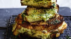 Meet the garlic bread and cheese toastie