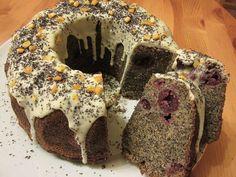 Mákos-narancsos kuglóf » Balkonada sütemény recept Doughnut, Muffin, Breakfast, Recipes, Food, Morning Coffee, Recipies, Essen, Muffins