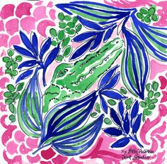 Chomping at the bit for Spring #lilly5x5