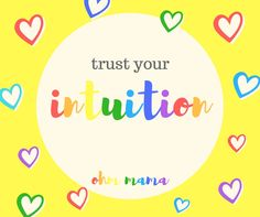 #OhmMama #intuition  instagram: ohm__mama Trust Yourself, Intuition, Meditation, Stress, Wisdom, Chart, Words, Instagram, Psychological Stress