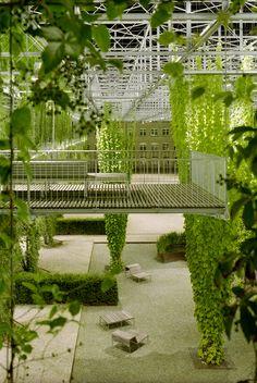 MFO Park in Zurich. By Burckhardt+Partner AG Zurich & Raderschallpartner AG… Urban Landscape, Landscape Design, Garden Design, Landscape Bricks, Landscape Steps, Landscaping Supplies, Garden Landscaping, Shade Landscaping, Green Facade