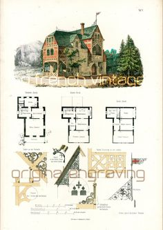 Architecture Houses Blueprints 1854 town house blueprints architecturalsofrenchvintage