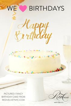 Everyday birthday cake becomes gourmet with this crowd-pleaser! The moist and colorful confection includes three kinds of sprinkles for your decorating pleasure, as well as 10 gold candles and a cake