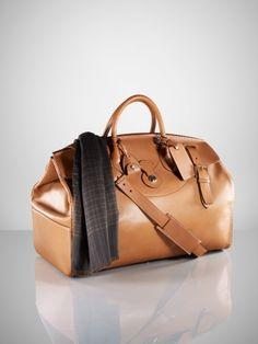 Ralph Lauren Purple Label Leather Cooper Bag