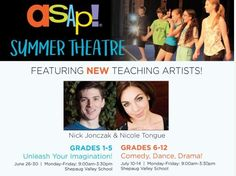 Sign up for Summer Theatre! Space is Limited... http://ift.tt/2qdNNMs