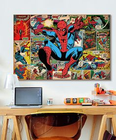 Spider-Man Gallery-Wrapped Canvas by Spiderman #zulily #zulilyfinds