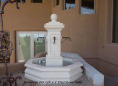 Cantera, Limestone, Wall Garden Stone Fountains Prices : Indoor Home for Sale, AZ