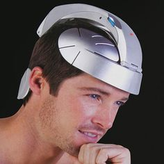 Head Spa - designed as a lightweight head cap. According to the company, it wears on your head very comfortably thanks to an ergonomic design and small shape, providing acupressure to simulate the sensation of hundreds of fingers simultaneously massaging your scalp.