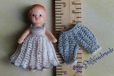 Dollhouse miniature set for tiny baby doll