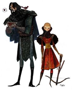 Game of thrones prince and the hound - Comic Illustrations by Phobs  <3 !