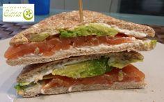 Los Postres de Elena: Sandwich Thins ocho cereales de salmón ahumado