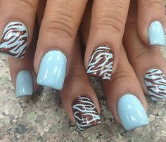 Summer nail design idea,so beautiful!