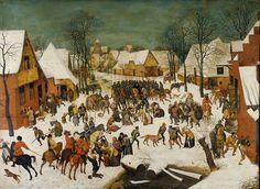 Massacre of the Innocents // 4th quarter 16th century // Copy after Pieter Bruegel the Elder // Kunsthistorisches Museum