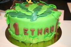 gâteaux jungle 4 Birthday Cake, Desserts, Food, Sugar Paste, Birthday Cakes, Meal, Deserts, Essen, Hoods