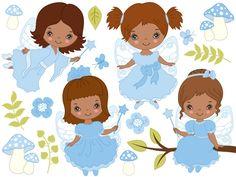 70% OFF SALE African American Fairy Clipart - Digital Vector Fairy, Girl, Fairytale, Fairy Clip Art  by TheCreativeMill on Etsy https://www.etsy.com/ca/listing/505508484/70-off-sale-african-american-fairy