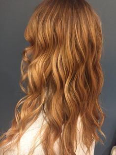 carmel strawberry copper blonde #lasalonbianca #bestsalon #rochesterny #hairbymackenzie