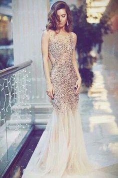 Beautiful mermaid gown...
