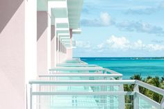 Inside Baha Mar mega-resort and the newly opened SLS Baha Mar, the first SLS property to open in the Caribbean. Great Vacation Spots, Need A Vacation, Double Kayak, Bahamas Honeymoon, Rooftop Lounge, Grand Hyatt, Crystal Clear Water, Perfect Place, Playground