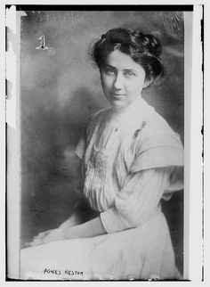 Agnes Nestor (1880-1948), suffrage and labor activist, cofounder of the Women's Trade Union League (WTUL) and the International Glove Workers' Union (IGWU)