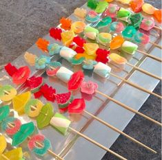 Candy Kabobs: Ideas On Pinterest