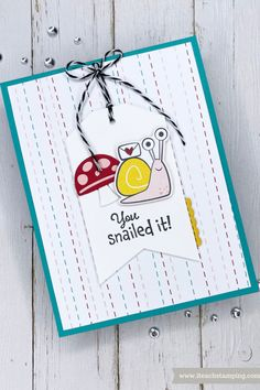 Snail Cards, How To Make Banners, Paper Pumpkin, Catalogue, Stampin Up Cards, Your Cards, Poster, Paper Crafts, Craft Cards