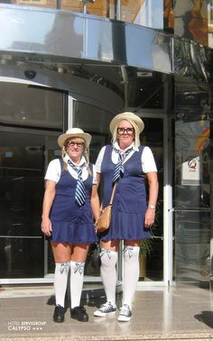 Fancy Dress Party at the Hotel Servigroup Calypso. Benidorm