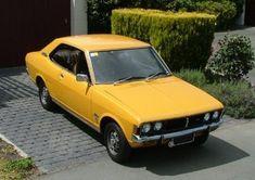 Mitsubishi Galant Yellow on a driveway - Mitsubishi Motors - Wikipedia Mitsubishi Galant, Mitsubishi Motors, Veteran Car, Jdm Cars, Toyota Corolla, Vehicles, Yellow, Tango, Whiskey