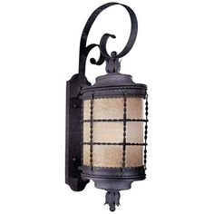 2lt hand forged iron exterior light wall fixtures ceiling the great outdoors go 8882 pl 1 light 3425 height outdoor wall sconce from the aloadofball Image collections