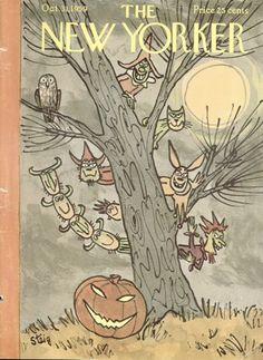 The cover of the New Yorker magazine for Oct 1959 looked like this