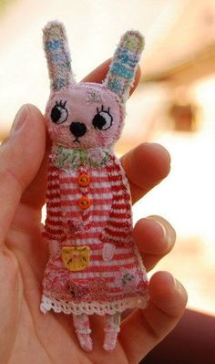 Bunnini bunny by mirianata on Etsy: