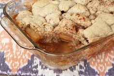 Gluten-free Vegan Apple Cobbler - I'd use coconut oil or real butter instead of the palm oil