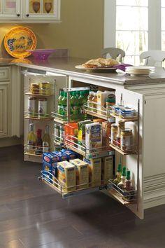 47 Smart Kitchen Cabinet Organization Ideas
