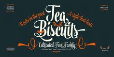 Tea Biscuit™ font download